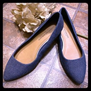 Christian siriano for Payless Denim Flats